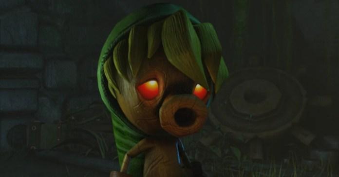 Zelda Majoras mask remake wiiu hd