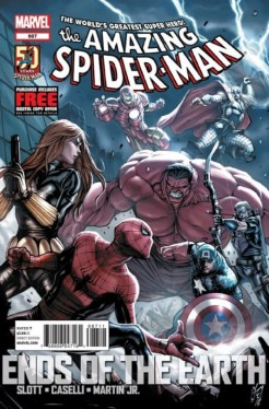 Portada del The Amazing Spider-Man 687