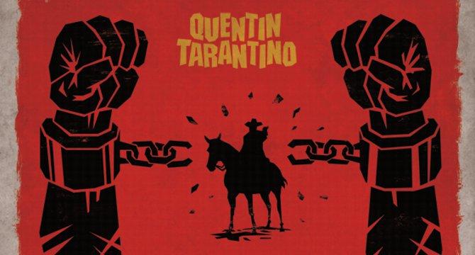 django desencadenado quentin tarantino poster