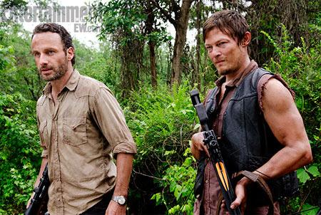 Walking Dead Rick Daryl