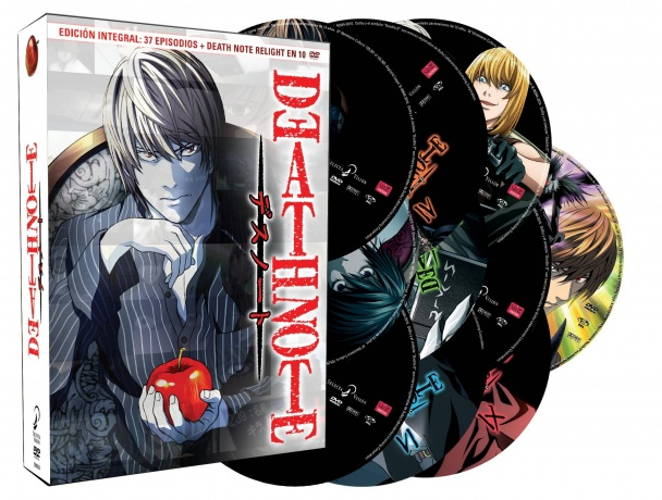 Death Note (Edición integral en DVD)