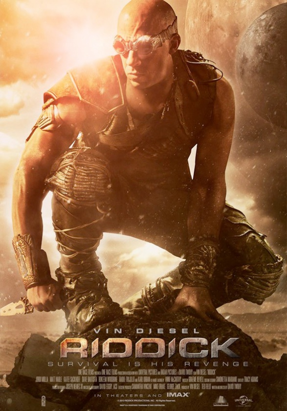 riddick nuevo póster