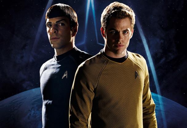 Kirk y Spock de Star Trek