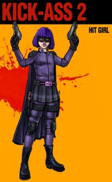 Hit-Girl art