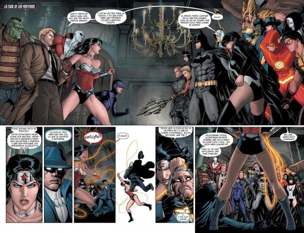 Justice League Dark trinity war