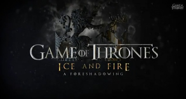 game of thrones season 4 fire and ice a foreshadowing