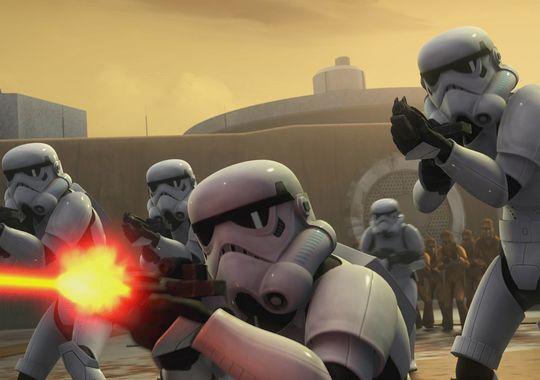 Star Wars Rebels Stormtroopers