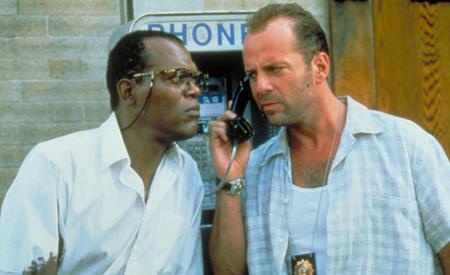 Zeus Carver y John McClane