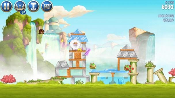 Angry Birds Star Wars II niveles