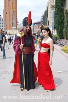 Cosplayers Aladdin Salón Cómic Barcelona