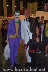 Cosplayers Joker Dos Caras Salón Cómic Barcelona