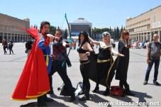 Cosplayers Nuevos Vengadores Salón del Cómic de Barcelona