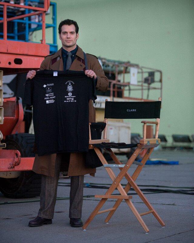 Henry Cavill Clark Kent Batman V Superman Dawn of Justice