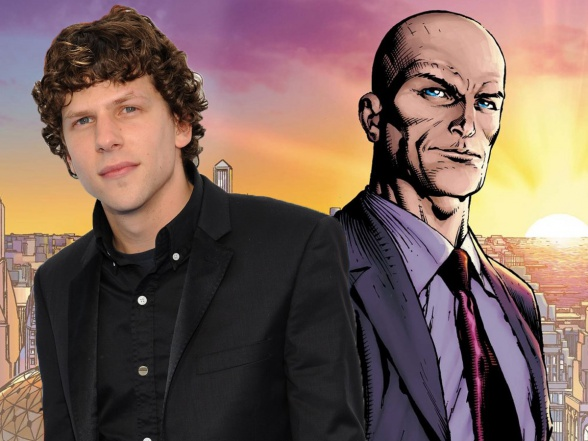 Jesse Einsenberg Lex Luthor