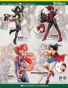 [SDCC2014] Catálogo de Kotobukiya para la Comic-Con