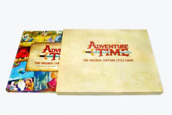 Hora de Aventuras pantallas de título comic con