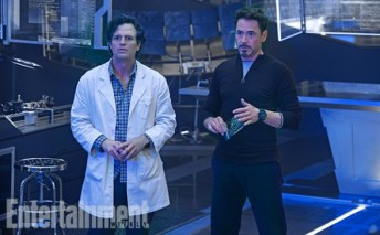 Bruce Banner y Tony Stark