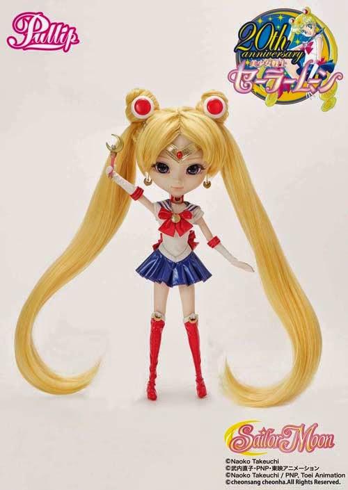 Pullip Sailor Moon Doll 20th Anniversary comic con exclusive