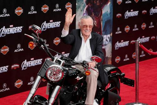 Stan Lee - Avengers premiere