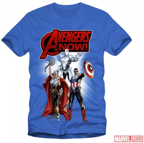 camiseta avengers now!