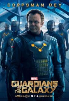 póster Rhoman Dey Guardianes de la Galaxia