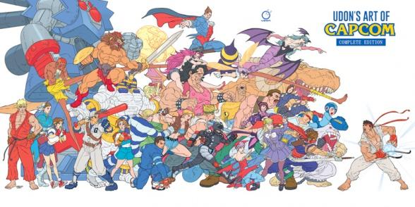 udon art of capcom complete edition comic con exclusive