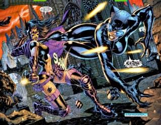 Catwoman y la Cazadora