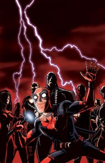 New Avengers 25 Deadpool