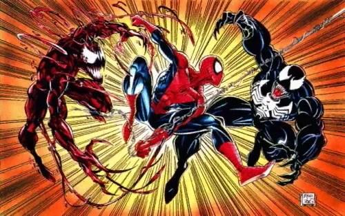 Spidey-vs-Carnage-and-Venom