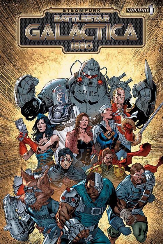 Steampunk Battlestar Galactica portada