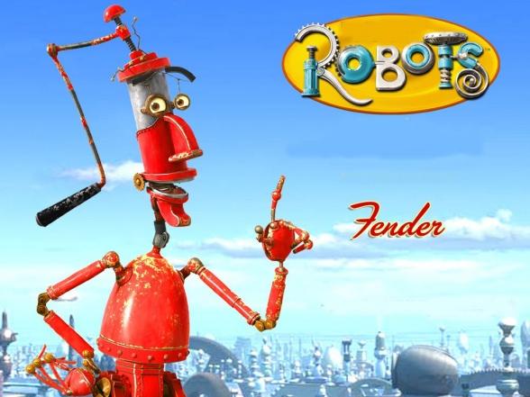 Robin Williams Robots