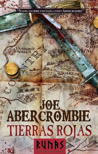 'Tierras Rojas' la última novela de Abercrombie en España