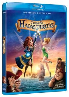 Campanilla Hadas y piratas