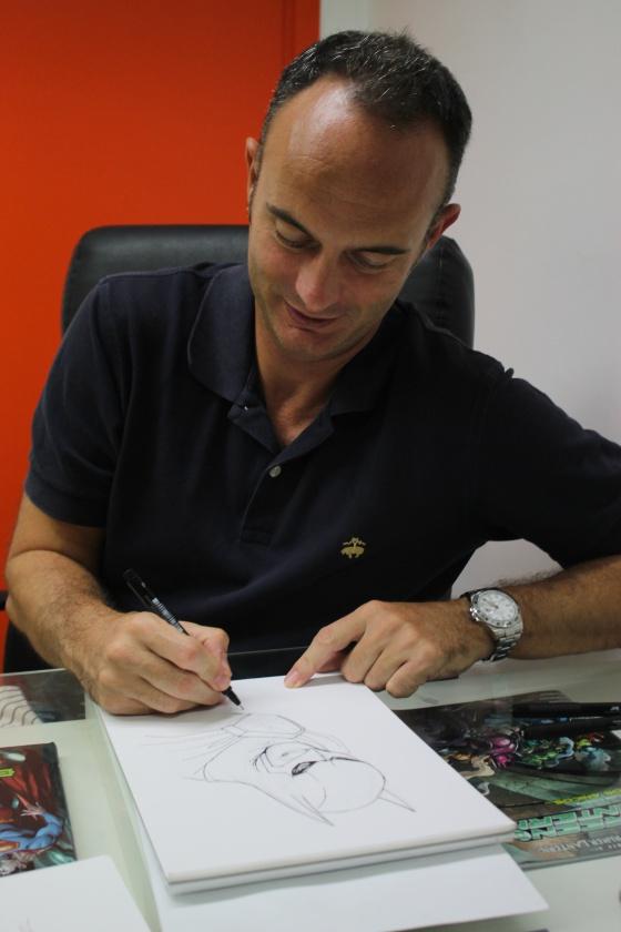 Entrevista Gary Frank ECC Ediciones