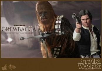 Hot Toys Chewbacca y Han Solo