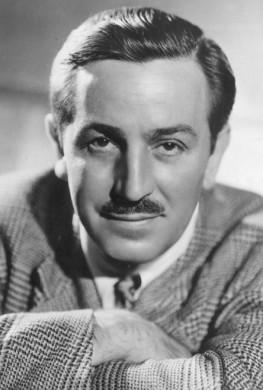 Retrato de Walt Disney