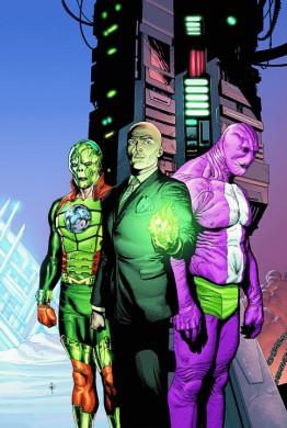 Metallo, Lex Luthor  y Parásito