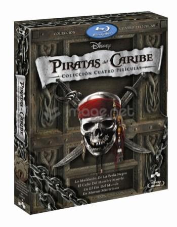 Piratas del Caribe pack