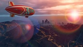 El dirigible Xero