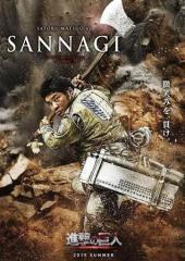 Ataque a los Titanes - Satoru Matsuo como Sannagi