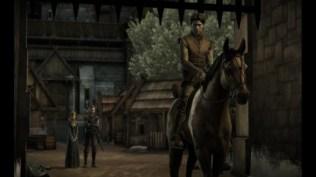 Jaime Lannister se aleja a caballo