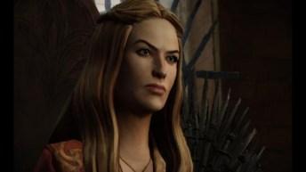 El avatar virtual de Cersei goza de su semblante despiadado