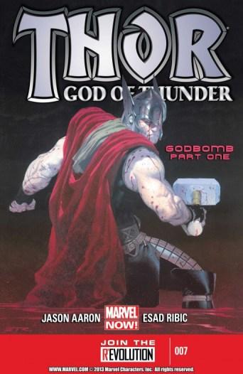 52. THOR GOD OF THUNDER de JASON AARON & ESAD RIBIC