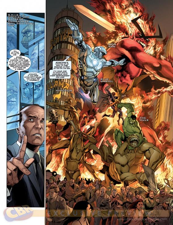 Waid y Pacheco traen Agentes de S.H.I.E.L.D. a la viñeta 14