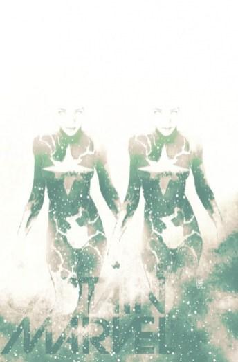 Captain Marvel 14 Variant Cover Cosmically Enhanced