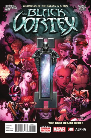 Guardians of the Galaxy & X-Men Black Vortex Alpha 1