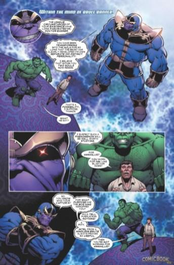 Thanos vs Hulk 1