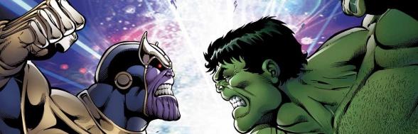Thanos vs Hulk 5