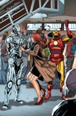 Welcome Home variant cover 15 - Superior Iron Man 4