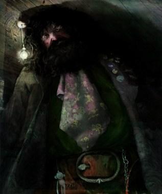 harry-potter-illustrado-hagrid